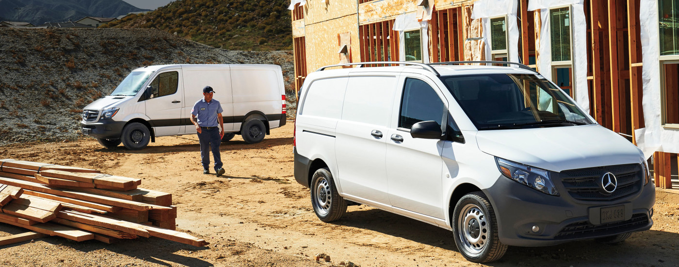 Mercedes benz vans sprinter and metris commercial vehicles for Mercedes benz work vans