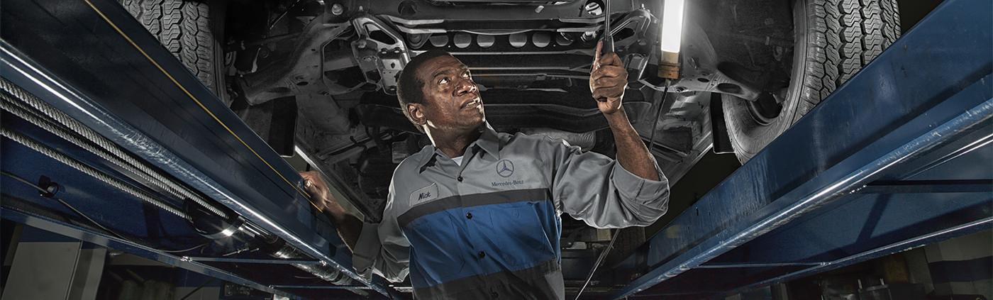 Mercedes-Benz Vans certified technician