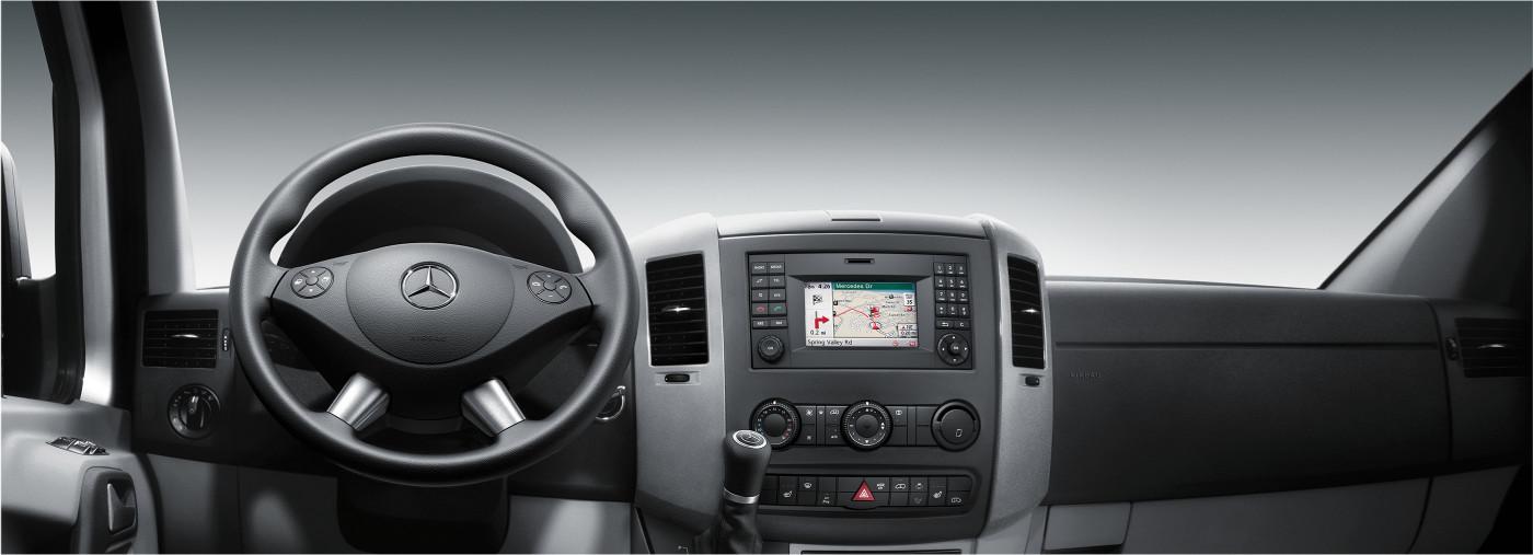 Mercedes-Benz Vans cockpit