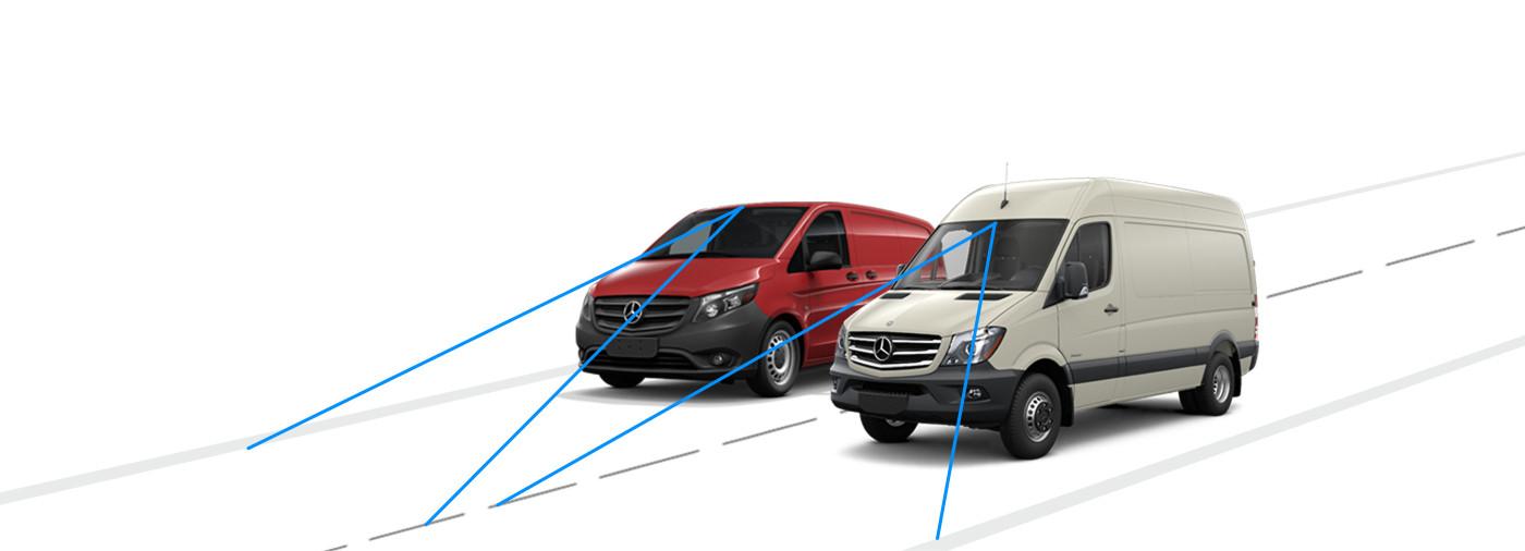 Mercedes-Benz Vans Lane Keeping Assist
