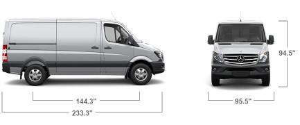 Sprinter Dimensions Interior Qnws Info