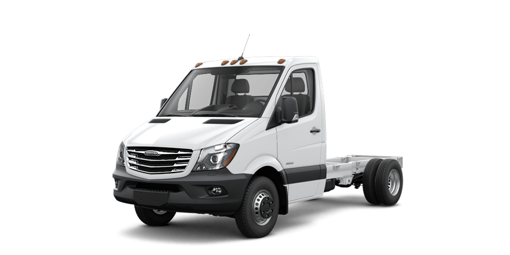 Cab chassis features freightliner sprinter for Mercedes benz usa accessories