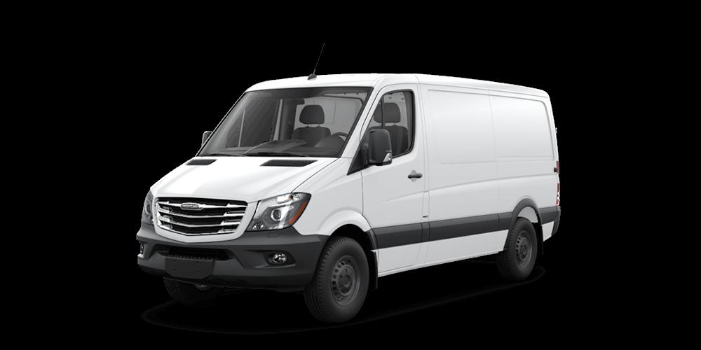 Worker Cargo Van Features Freightliner Sprinter