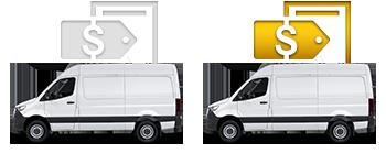Black Freightliner Van - Special Offers