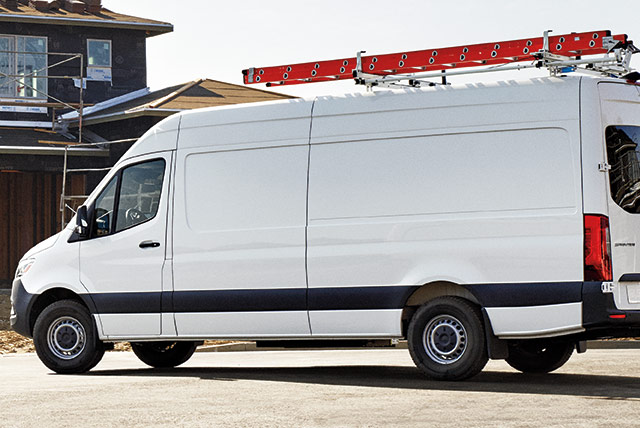 new sprinter front row