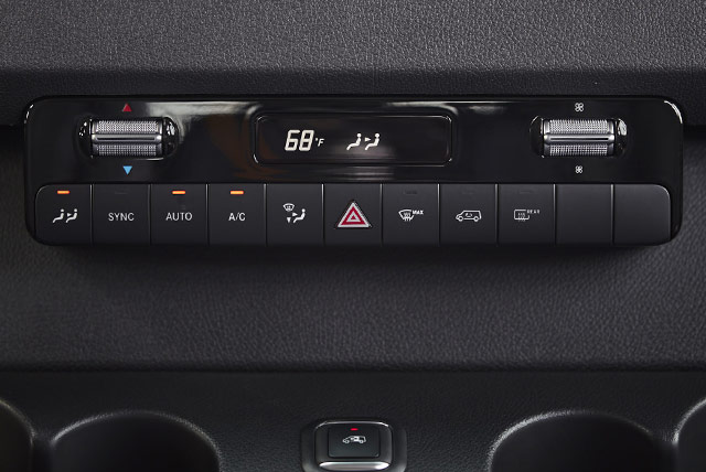 new sprinter ac controls