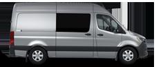 Silver Sprinter Crew Van