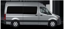 Silver Sprinter Passenger Van