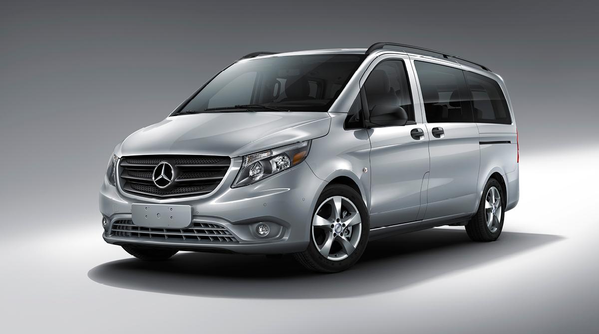 Metris passenger van features mercedes benz vans for Mercedes benz metris passenger