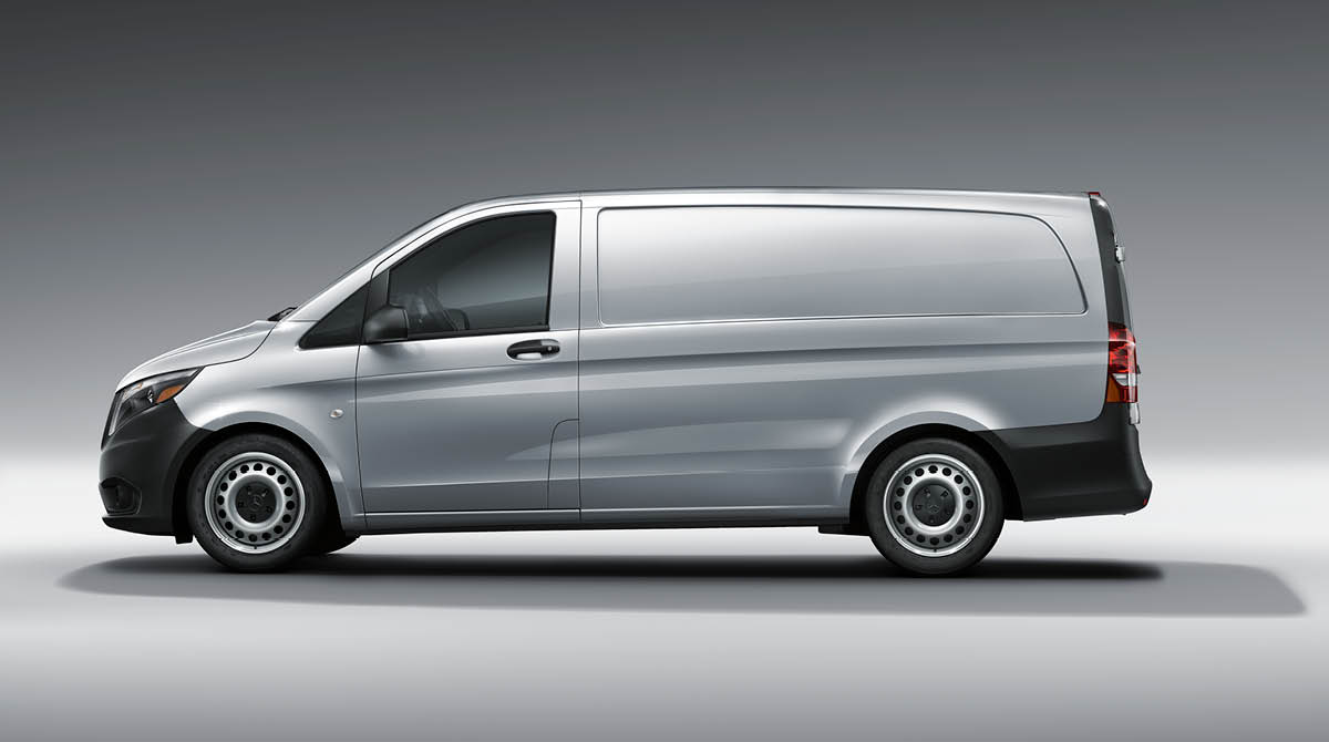 Metris cargo van features mercedes benz vans for Mercedes benz work vans