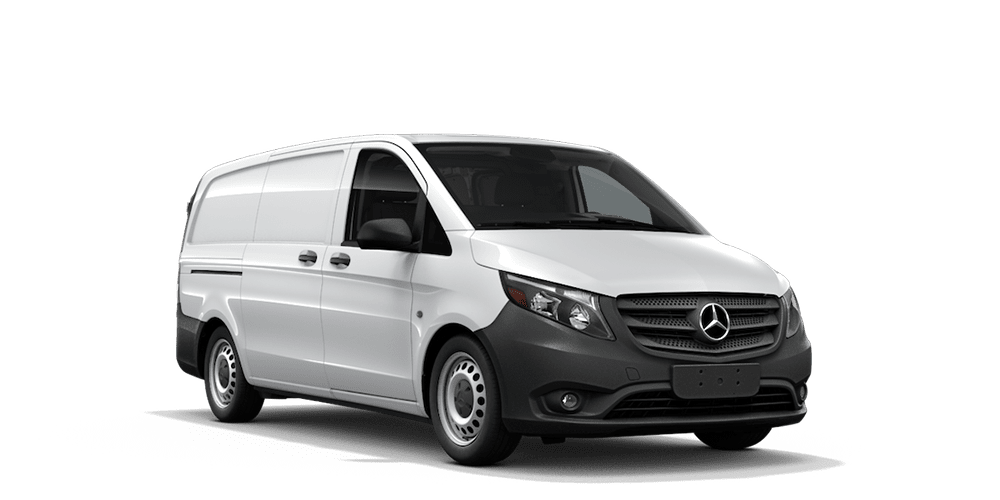 Metris worker cargo van features mercedes benz vans for Mercedes benz work vans