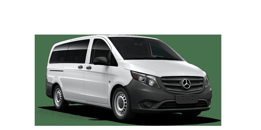 "Passenger Van Metris Worker Standard Roof 126"" Wheelbase Exterior Image"