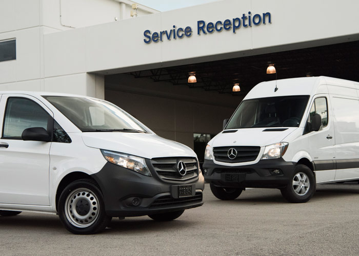 Parts services mercedes benz vans for Mercedes benz mechanic jobs