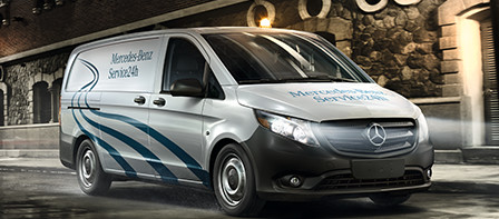 Parts and service mercedes benz vans for Mercedes benz customer service email address
