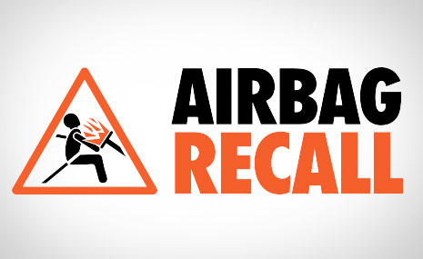 Mercedes-Benz Vans Airbag Recall Warning Graphic