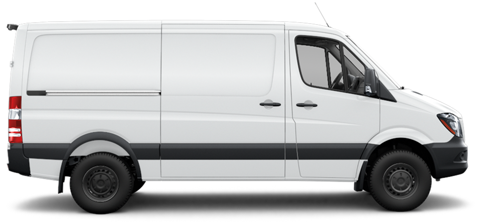 Sprinter worker cargo van features mercedes benz vans for Mercedes benz sprinter cargo van