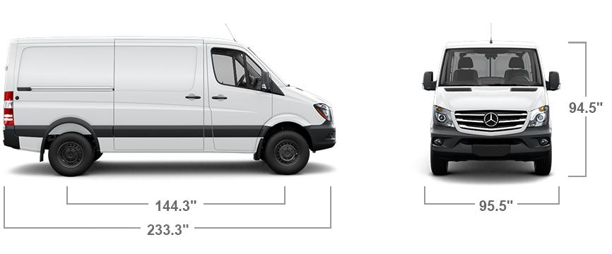 Sprinter WORKER Cargo Van Features | Mercedes-Benz Vans