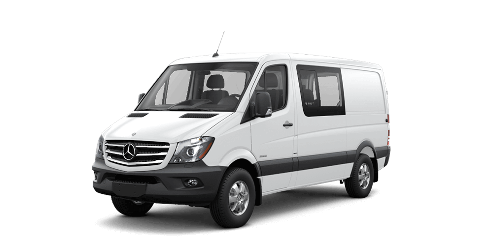 Sprinter Crew Van Features