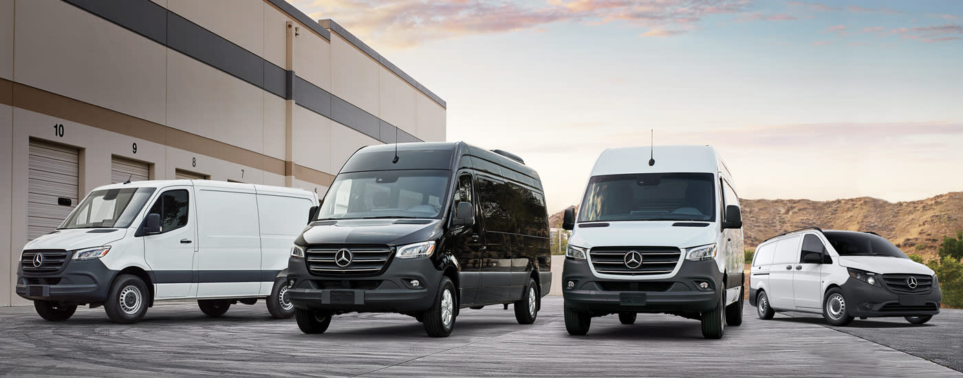 Fleet program mercedes benz vans for Mercedes benz work vans