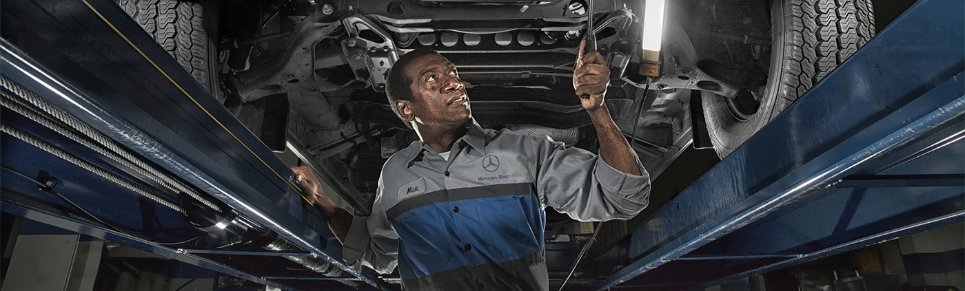 Mercedes-Benz Vans certified technician