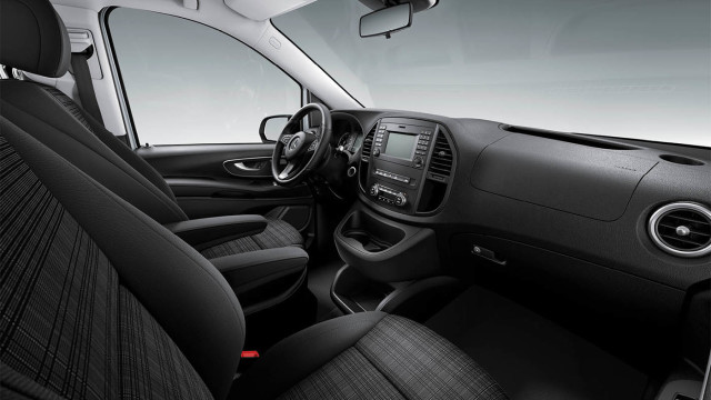 Passenger van interior