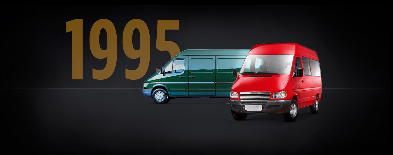 freightliner sprinter van history 1995