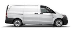 White Metris WORKER Cargo Van