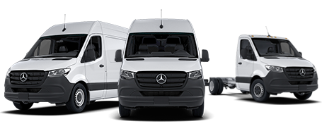 Mercedes-Benz Sprinter Van lineup