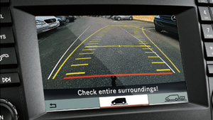 backup rearview camera screen