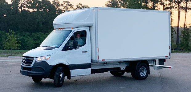 Mercedes-Benz Sprinter Cab Chassis with Knapheide/IVS box body available as an Exclusive Offer