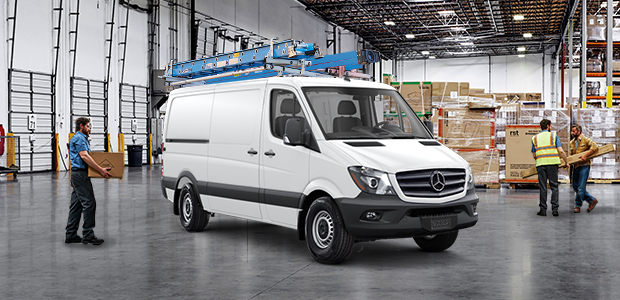 Mercedes-Benz Sprinter Metris Van special offers package