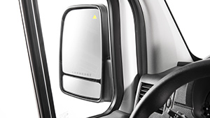 Sprinter blind spot assist mirror