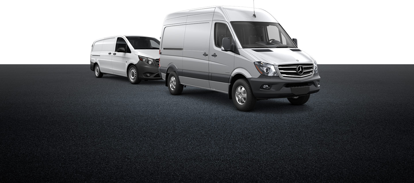 mercedes benz vans safety features