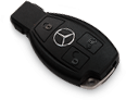 A black Sprinter Van key fob