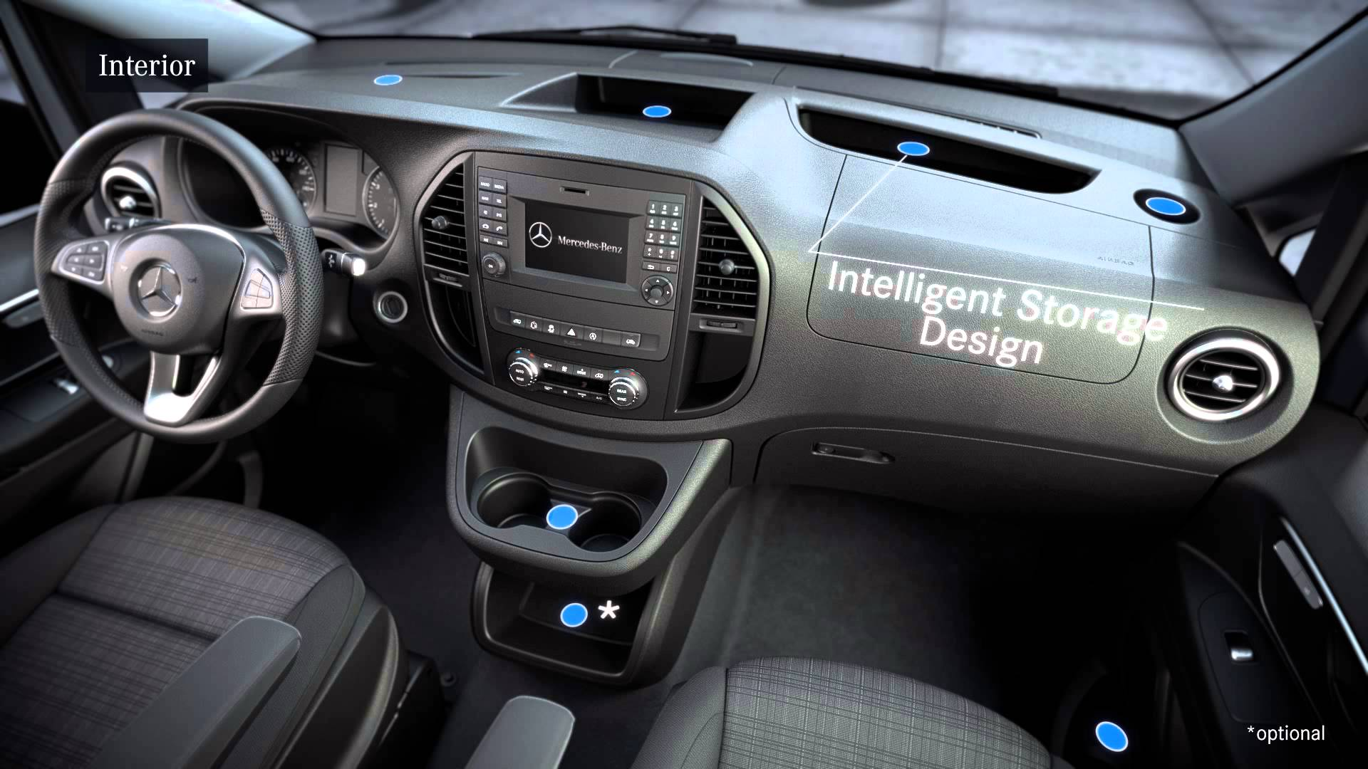 Product highlights years mercedes benz vans for Cdi interior design